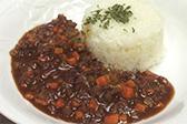 野菜たっぷりキーマカレー(甘口)