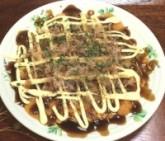 米粉で作るお好み焼き(豚玉)