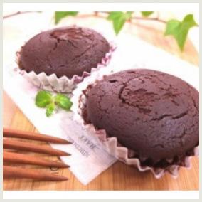 ガトーショコラ風お米ケーキ