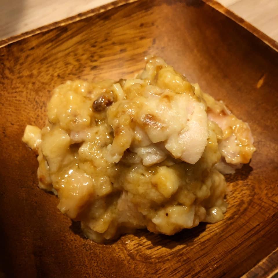 大豆を使わない味噌パインジュースにんにく鶏肉1