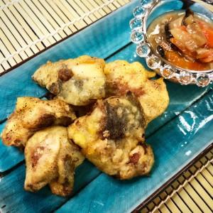 白身魚和風天ぷら2