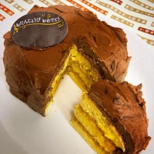 ライスケーキかぼちゃチョコ4